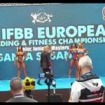 Zlato za Miljanu Ferenc na Evropskom prvenstvu u Španiji